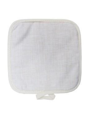 Premium Linen Pot Mat/ Holder - 19.5cm x 19.5cm