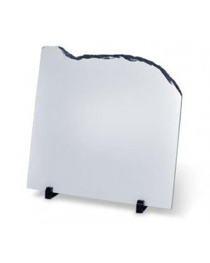 Blank Belltop Sublimation Photo Slate with Stands