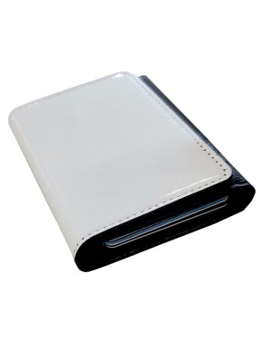 PU - Folding 7-Card Cardholder - Black