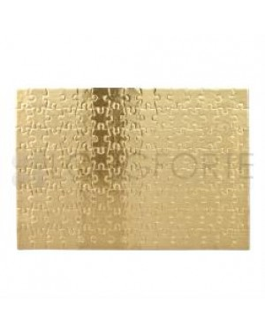 Jigsaw Puzzles - Cardboard - A4 - Gold