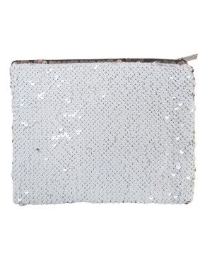 Sequin Purse/ Pouch - 15cm x 20cm - GOLD