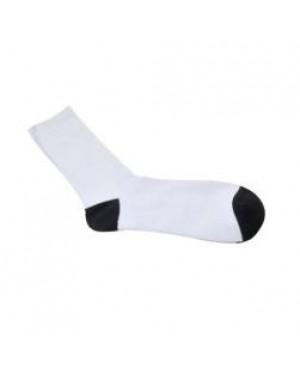 Socks - Black Toe/ Black Heel - Women's Socks - 35cm