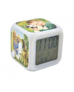 Clock - Digital Alarm Clock with Printable Inserts