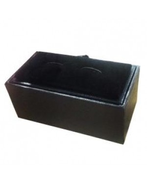 Cufflinks Giftbox - PU - Flip Top