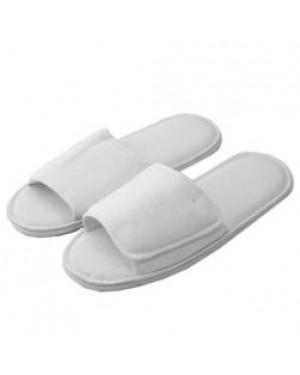 Footwear - Indoor Slippers/ Sliders Open Toe - White