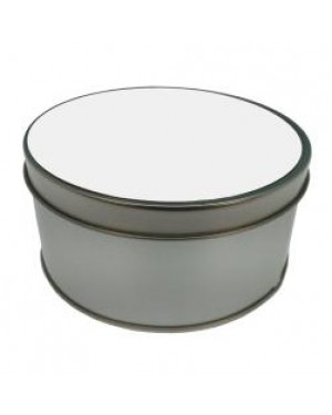 Tins - Metal - Round - With Printable Insert