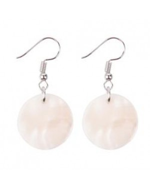 Jewellery - Earrings - Real Shell - Round