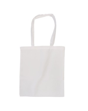 Tote Bag - LARGE New York - Canvas White - 38cm x 42cm - Long Handles