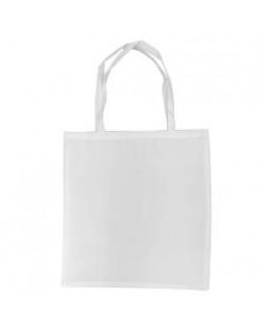Tote Bag - Venice - Satin White - 38cm x 40cm - Short Handles
