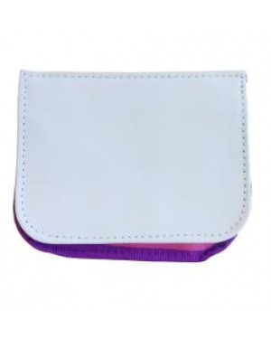 Travel Wallet with Shoulder Strap - Pink
