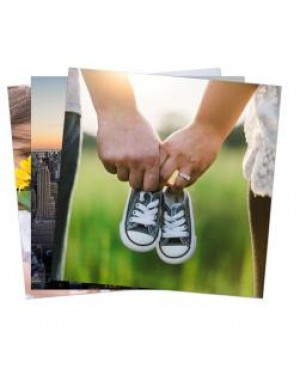 """Pack of 10 x Ultra HD 1.15mm Thick Sublimation Aluminium Sheets - 4"""" x 4"""" (10cm x 10cm)"""