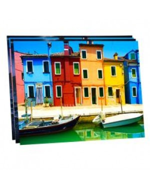 """Pack of 10 x Ultra HD 1.15mm Thick Sublimation Aluminium Sheets - 11.8"""" x 15.7"""" (30cm x 40cm)"""