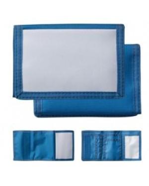 Wallet - Nylon - Blue