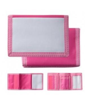 Wallet - Nylon - Pink
