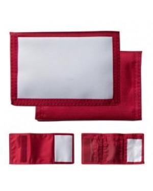 Wallet - Nylon - Red