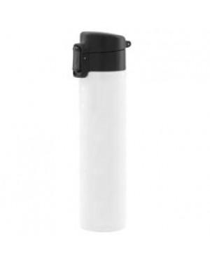 Water Bottles - Flip Lid - 400ml - White