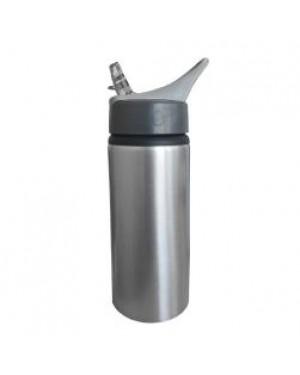 Water Bottles - Handled - 650ml - Silver