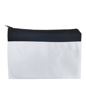 Wallets & Purse - TWO TONE Black & White - 11.5cm x 24cm