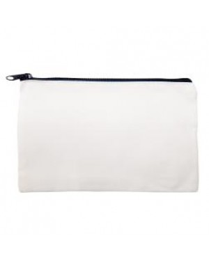 Make Up/ Cosmetic/ Washbag 100% Polyester - Blue Zip