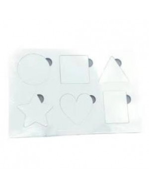 Puzzle - MDF Frame - 15cm x 20cm