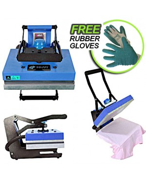 Galaxy heat press blue