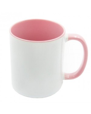 Pink sublimation 11oz Mug