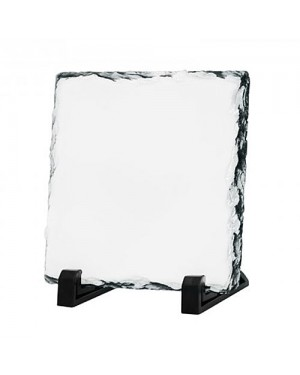 Square Sublimation Slate Rock 15x15cm