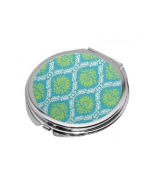 Sublimation Round Compact Mirror