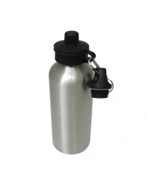 Blank Silver 600ml Water Bottle for Sublimation