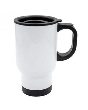 Blank white travel mug for Sublimation