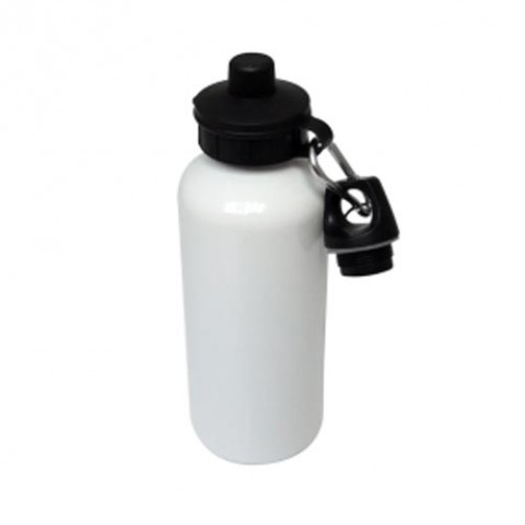 Blank White 600ml Water Bottle for Sublimation
